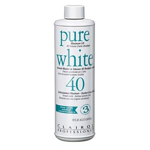 Product image for Clairol Pure White 40 Volume 16 oz