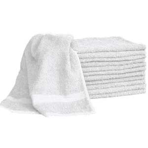 Product image for White Terry Towels 9 Pack
