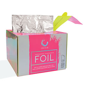 Product image for Colortrak Pre Cut Foil 500 Sheets