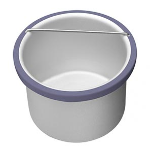 Product image for Satin Smooth beBare Removable Metal Pot Insert