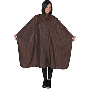Product image for Betty Dain Bleach Proof Cape - Brown