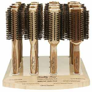 Product image for Olivia Garden Healthy Hair Bamboo Brush Display