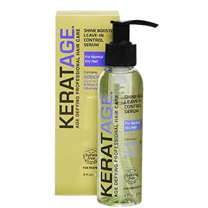 Product image for Keratage Shine Booster Leave-In Control Serum 4 oz