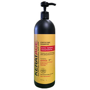 Product image for Keratage Fortifying Shampoo Liter with Pump