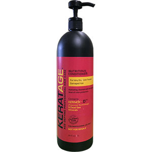 Product image for Keratage Nutritious Conditioner Liter with Pump