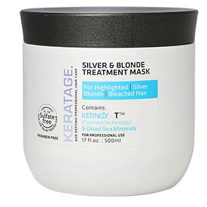 Product image for Keratage Silver & Blonde Treatment Mask 16.9 oz