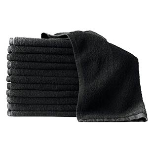 Product image for Partex Bleach Guard Legacy Dark Grey Towels 9 Pk