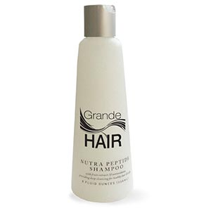 Product image for GrandeHAIR Nutra Peptide Shampoo 8 oz