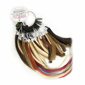 Product image for Hair Couture Color Ring-Clip-N-Go/Pure/Lengths