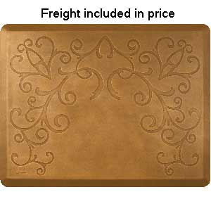Product image for Smart Step Copper Leaf 4' x 5' Mat