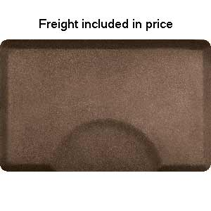 Product image for Smart Step Granite Copper 3' x 4.5' Rectangle Mat