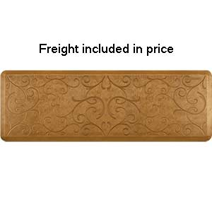 Product image for Smart Step Copper Leaf 6' x 2' Rectangle Mat