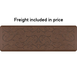 Product image for Smart Step Light Antique 6' x 2' Rectangle Mat