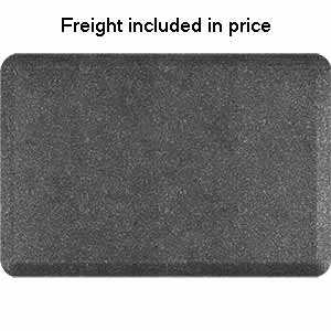 Product image for Smart Step Granite Steel 3' x 2' Rectangle Mat