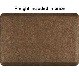 Product image for Smart Step Granite Copper 3' x 2' Rectangle Mat