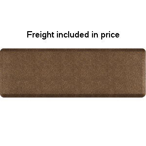 Product image for Smart Step Granite Copper 6' x 2' Rectangle Mat