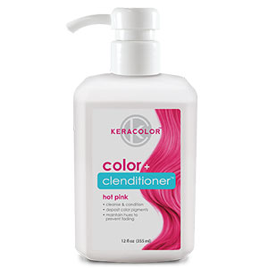 Product image for Keracolor Color + Clenditioner Hot Pink 12 oz