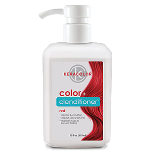 Product image for Keracolor Color + Clenditioner Red 12 oz