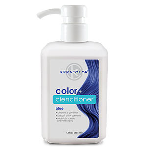Product image for Keracolor Color + Clenditioner Blue 12 oz