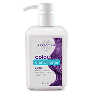 Product image for Keracolor Color + Clenditioner Purple 12 oz