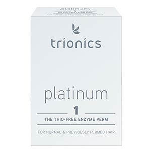 Product image for Trionics Platinum #1 Perm for Normal Hair