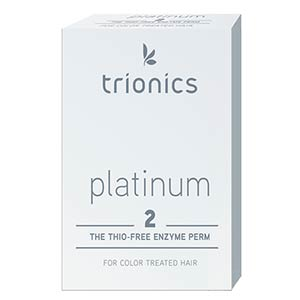 Product image for Trionics Platinum #2 Perm for Color Treated Hair