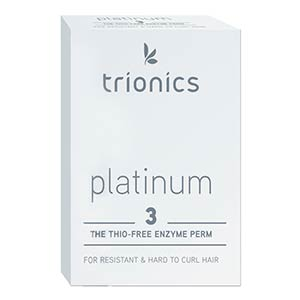 Product image for Trionics Platinum #3 Perm for Resistant Hair