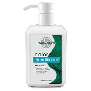 Product image for Keracolor Color + Clenditioner Emerald 12 oz