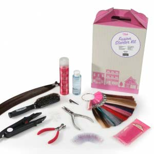 Product image for Babe Hair Extensions Fusion Starter Kit