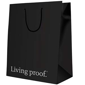 Product image for Living Proof Black Retail Bag