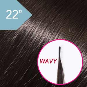 Product image for Babe Hair Extensions I-Tip Wavy #1B