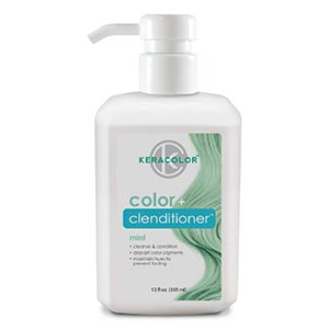 Product image for Keracolor Color + Clenditioner Mint 12 oz
