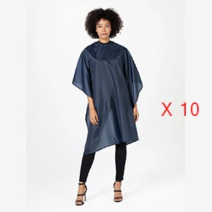 Product image for Betty Dain Whisper Styling Cape Black 10 Pieces