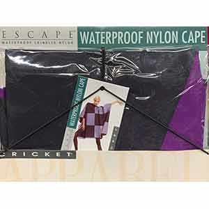 Product image for Cricket Waterproof Nylon Cape Wineberry/Black
