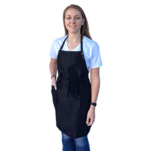 Product image for Diamond Technical Apron with Pocket Black