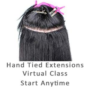 Product image for Babe Hand Tied Weft Extension Virtual Course