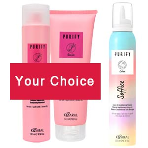 Product image for Kaaral Purify Stylist Choice Retail Set
