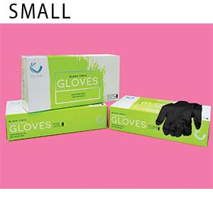 Product image for Colortrak Small Black Gloves Buy 1, Get 1 FREE