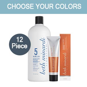 Product image for Beth Minardi Permanent Cream 12 Color Intro