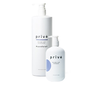 Product image for Prive Backbar Duo Blonde Rush Condition Liter w/Sh