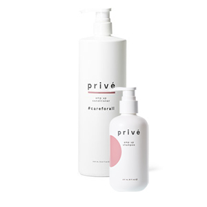 Product image for Prive Backbar Duo Amp Conditioner Liter w/Sh