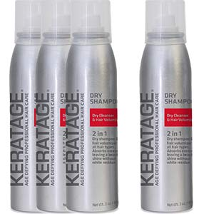Product image for Keratage Dry Shampoo - Buy 3, Get 1 FREE