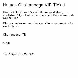 Product image for Neuma 2019 Chattanooga VIP Ticket