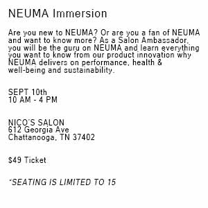 Product image for Neuma Immersion